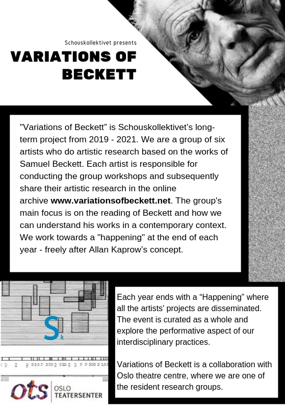 V. of Beckett flier